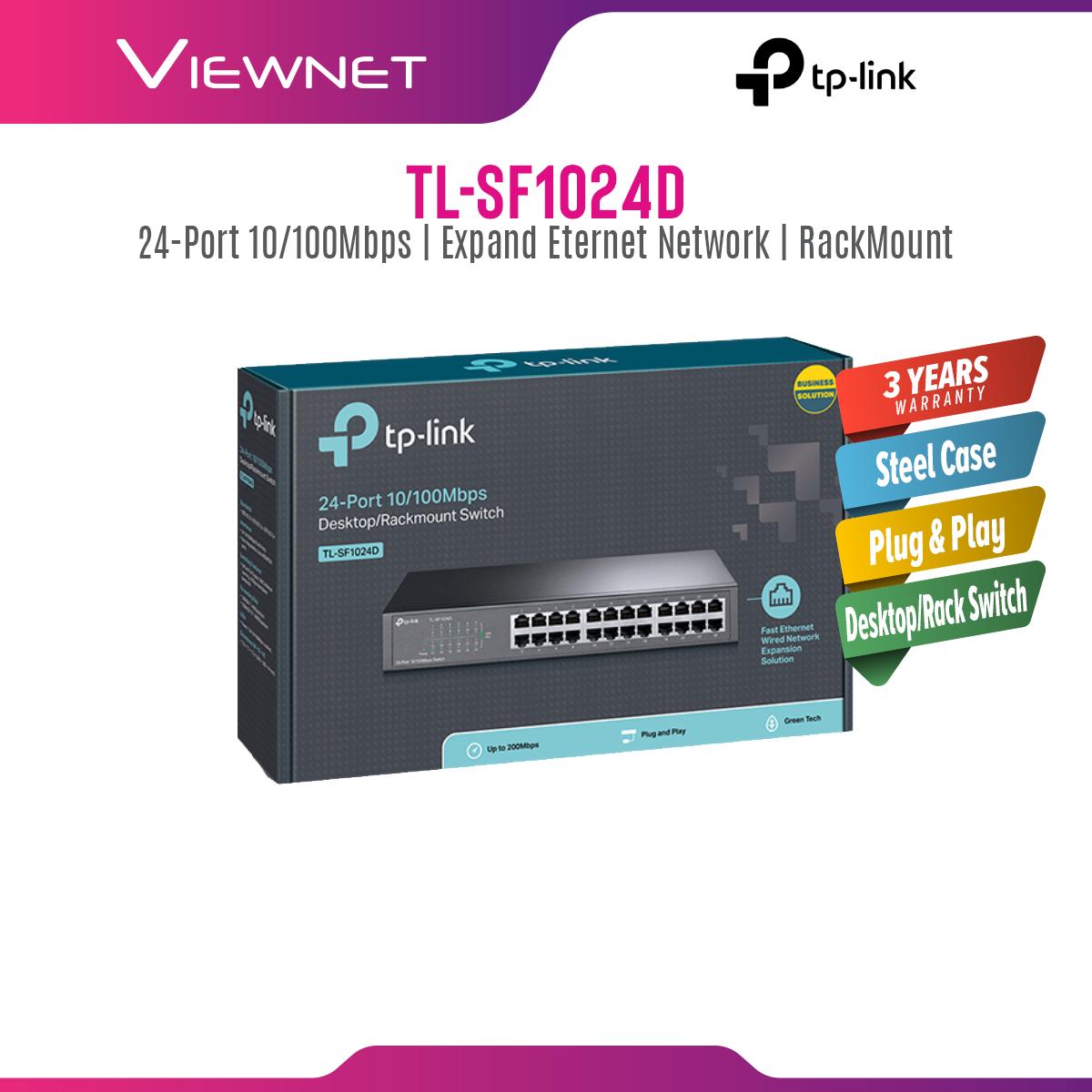 TP-Link TL-SF1024D STD 24-Port Switch