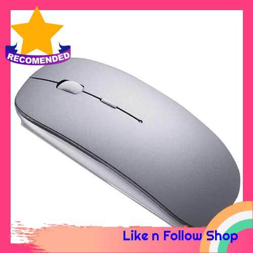 A103 Wireless Mouse 2.4GHz Laptop Mouse Mute Button with 1600DPI USB Interface Ergonomic Optical Computer Mice for Windows Laptop PC Computer Mac Office/Home use (Dark Gray)