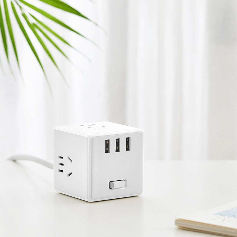 Chargers - Xiaomi Magic Cube Power Strip Adapter - Cables