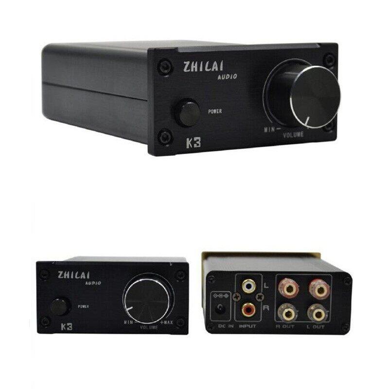 K3 T-Amp DC12V Desktop HiFi Home Digital Audio MINI Power Amplifiers Equipment - BLACK WITHOUT POWER / SILVER WITHOUT POWER / GOLD WITHOUT POWER / BLACK WITH POWER / SILVER WITH POWER / GOLD WITH POWER