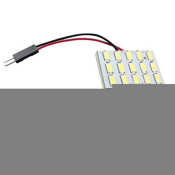 Car Lights - 5630 15SMD Car White LED Interior Dome Reading Trunk Panel Light Bulb - Replacement Parts