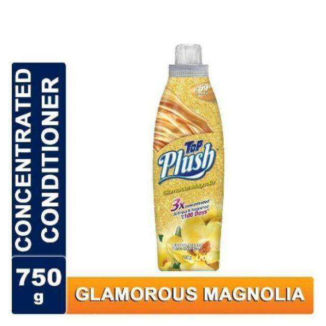 TOP Plush Ultra Concentrated Fabric Conditioner-GLAMOROUS MAGNOLIA 750G READY STOCK