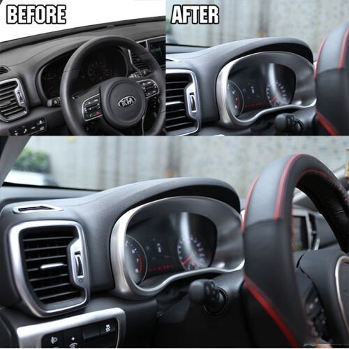 Automotive Tools & Equipment - Instrument Panel Trim Navi Dash Fram Cover Molding For 2017- KIA KX5 Sportage - Car Replacement Parts