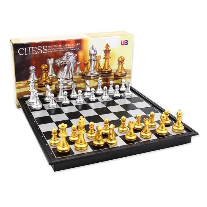 Folding Magnetic Travel Chess Set For Kids Or Adults Chess Board Game