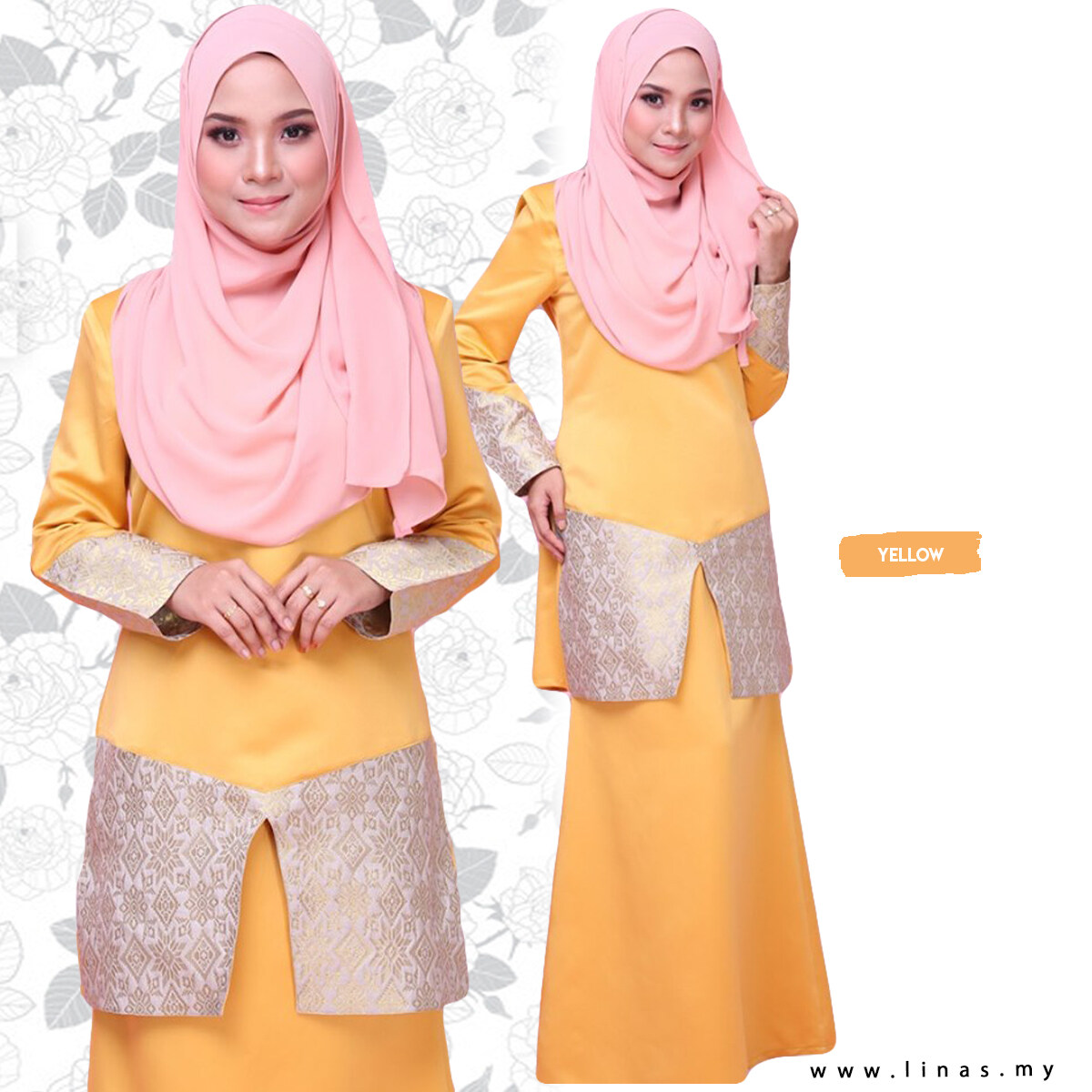 Kurung Maira Songket by Linas Fashion