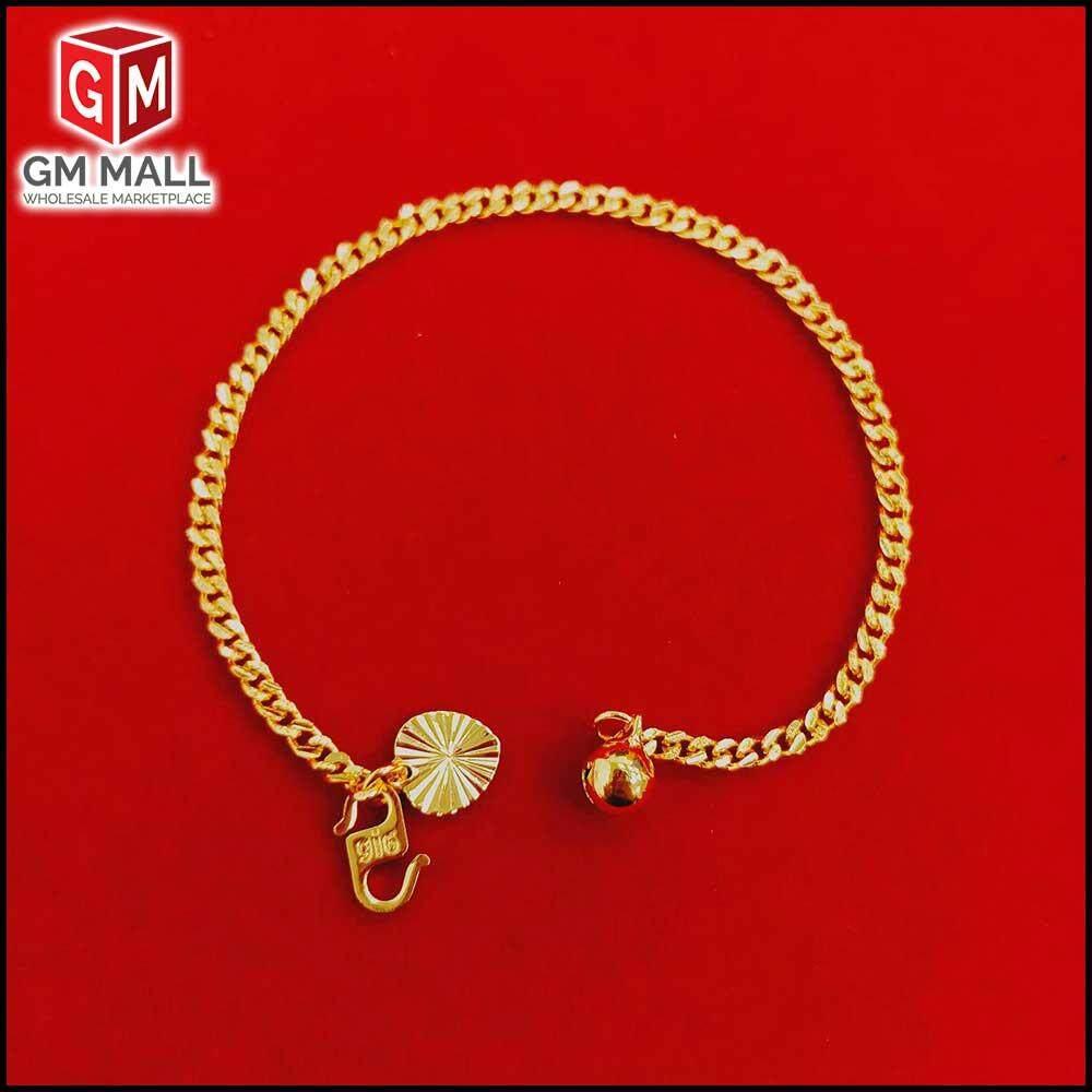 Emas Korea Jewellery - Gelang Tangan Papan ( EK-2035-6 ) For Women