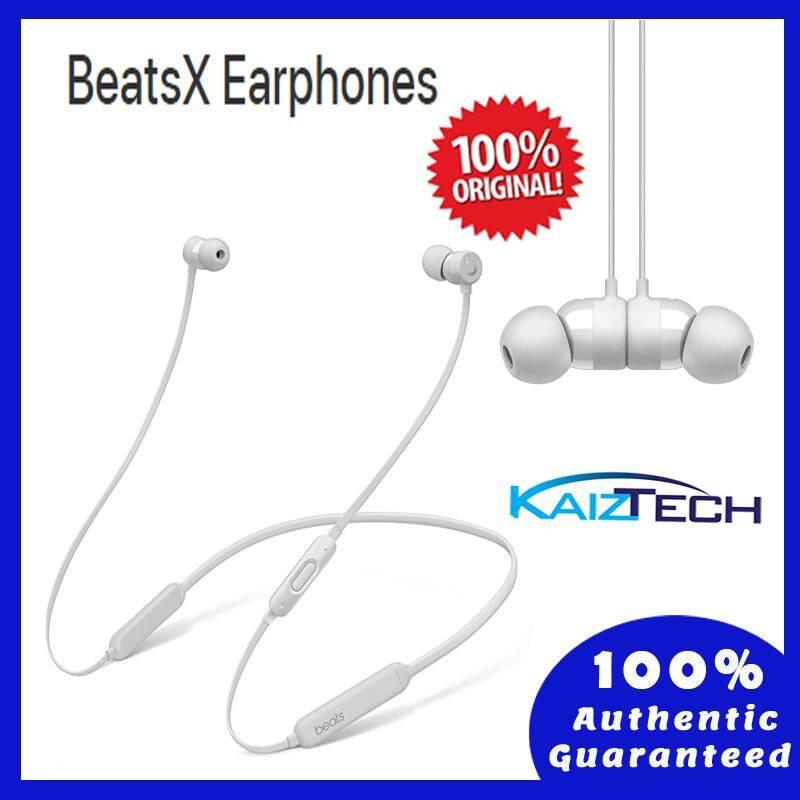 100% Original BeatsX Earphones - Satin Silver (1 Year Malaysia Warranty)