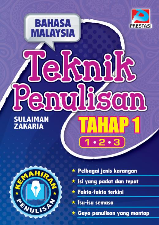 Bahasa Malaysia Teknik Penulisan Tahap 1 Tahun 1,2 & 3