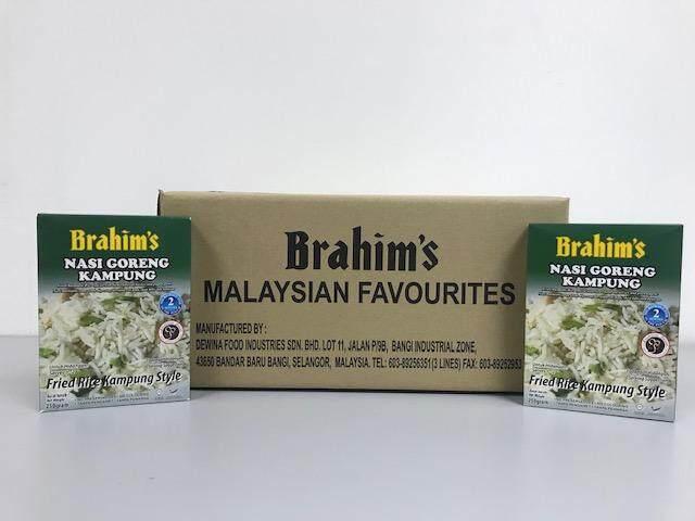 Brahim's Nasi Goreng Kampung 1 Karton (Kampung Fried Rice)