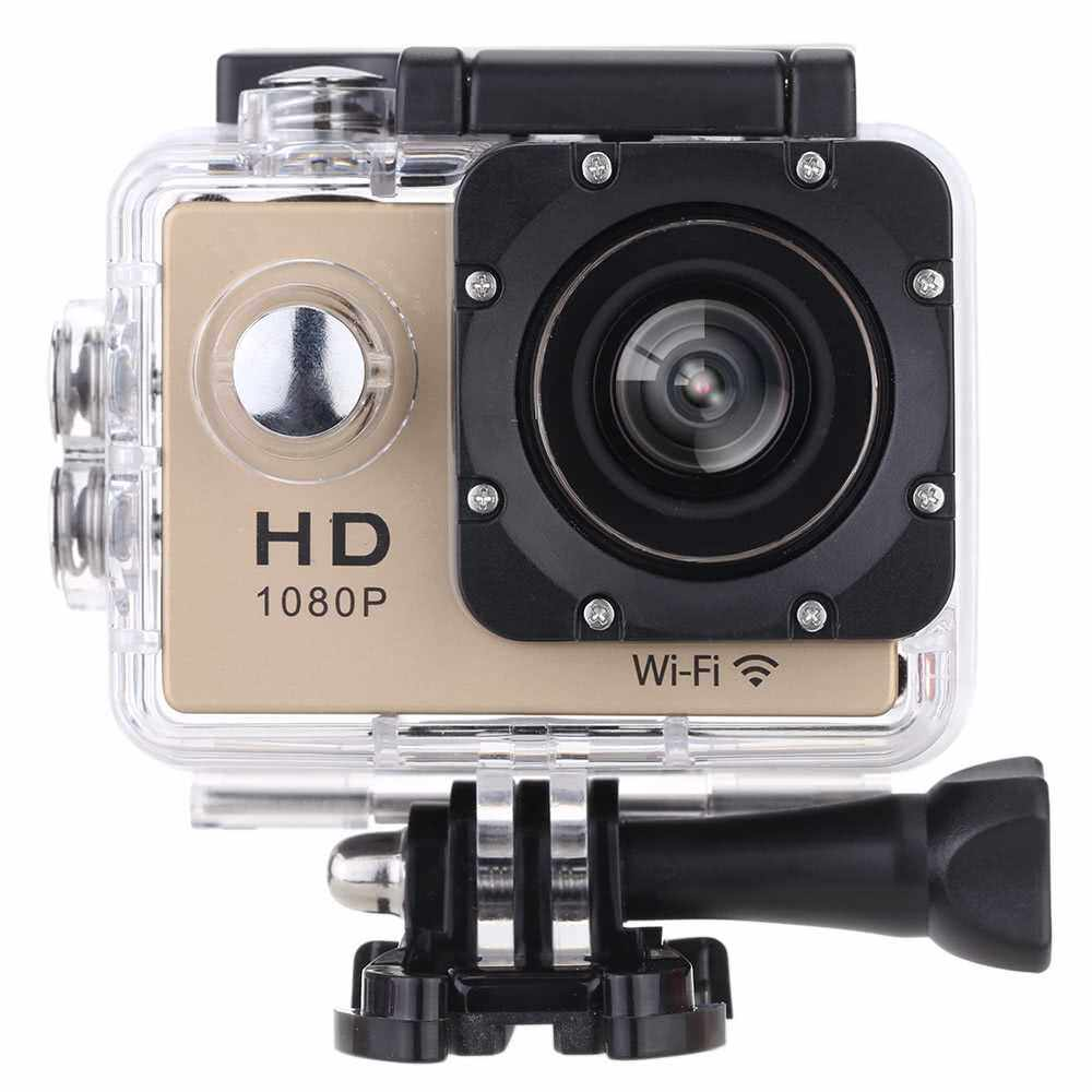 """Best Selling W8 1080P 30FPS 12MP Wifi Waterproof 30M Shockproof 170 Wide Angle 1.5"""" Screen Outdoor Action Sports Camera Camcorder Digital Cam Video HD DV Car DVR (G)"""