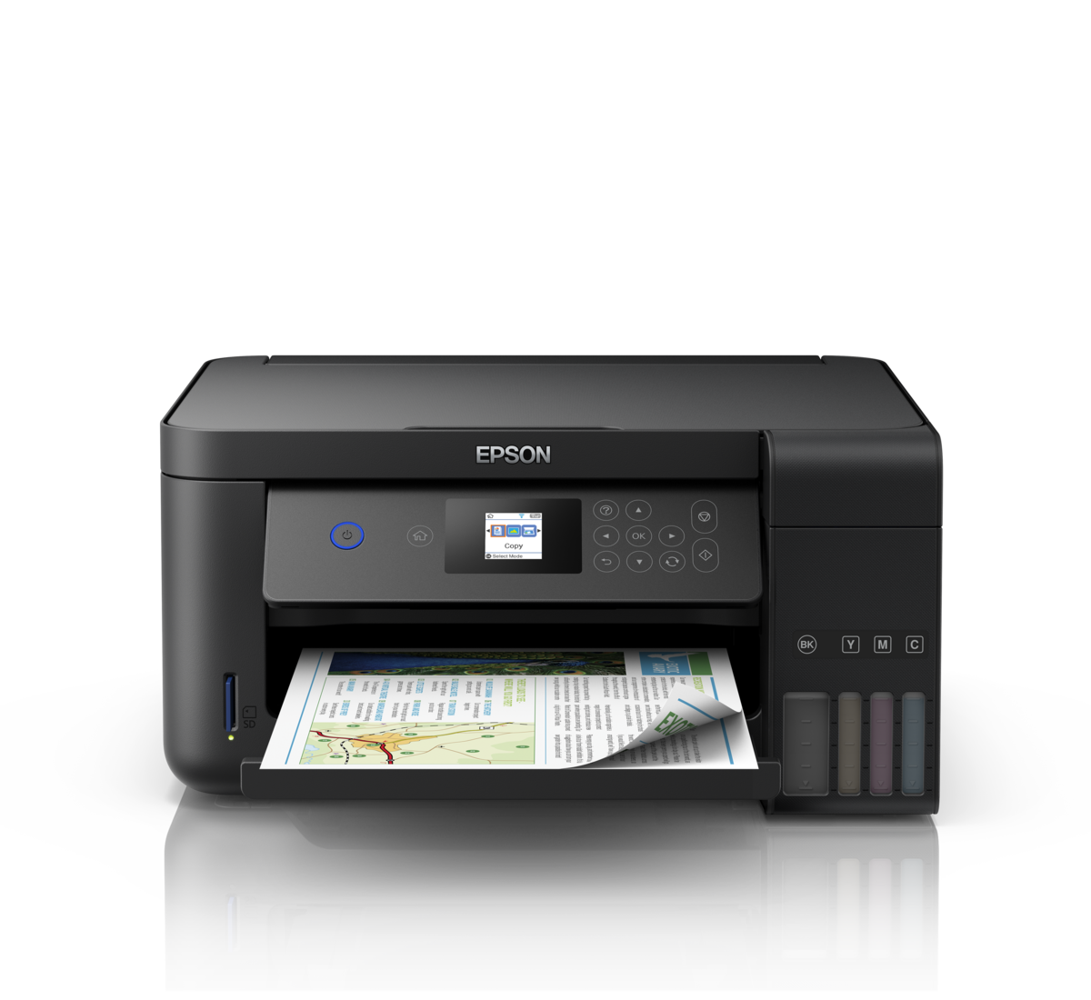 Epson EcoTank L4160 All-In-One Ink Tank Colour (Print/Scan/Copy/Wi-Fi/Delux) Printer