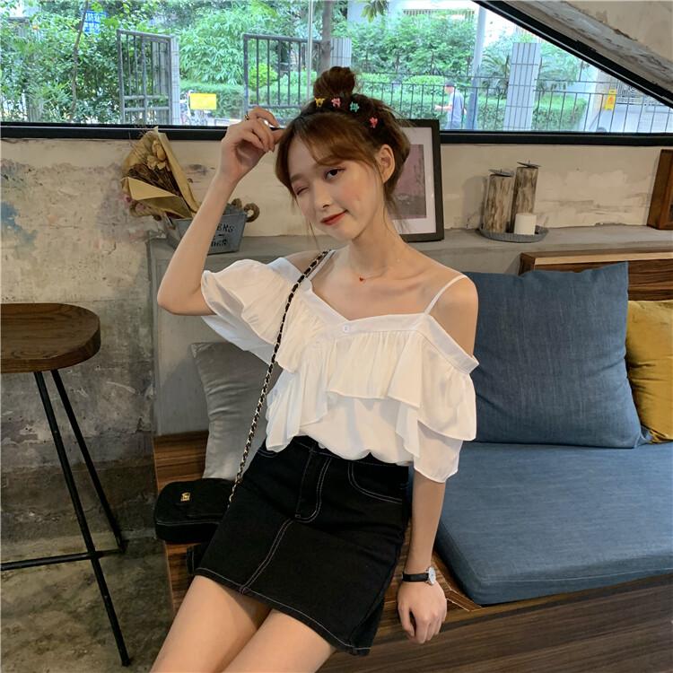 JYS Fashion Korean Style Women Off Shoulder Top Collection 533-8257
