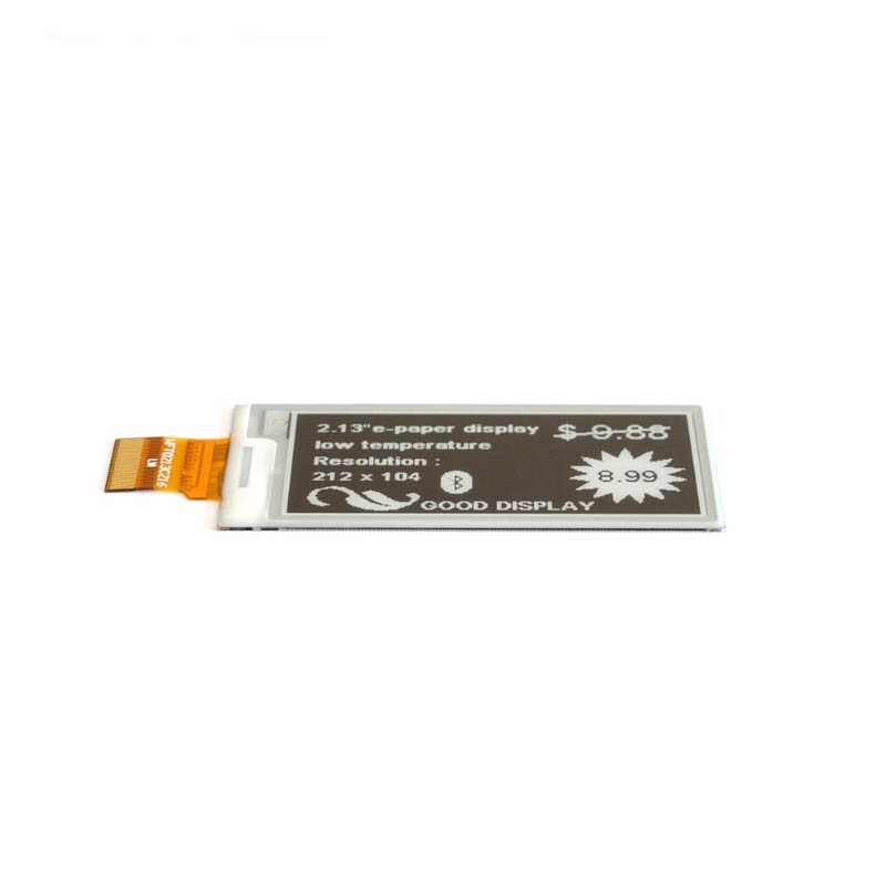 2.13 inch E-paper Display Low Temperature Electronic Paper Resolution E-Ink Good