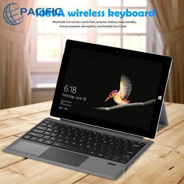Portable Bluetooth 3.0 Keyboard for Microsoft Surface Pro 3/4/5/6/7 Keypad with Touchpad Singapore