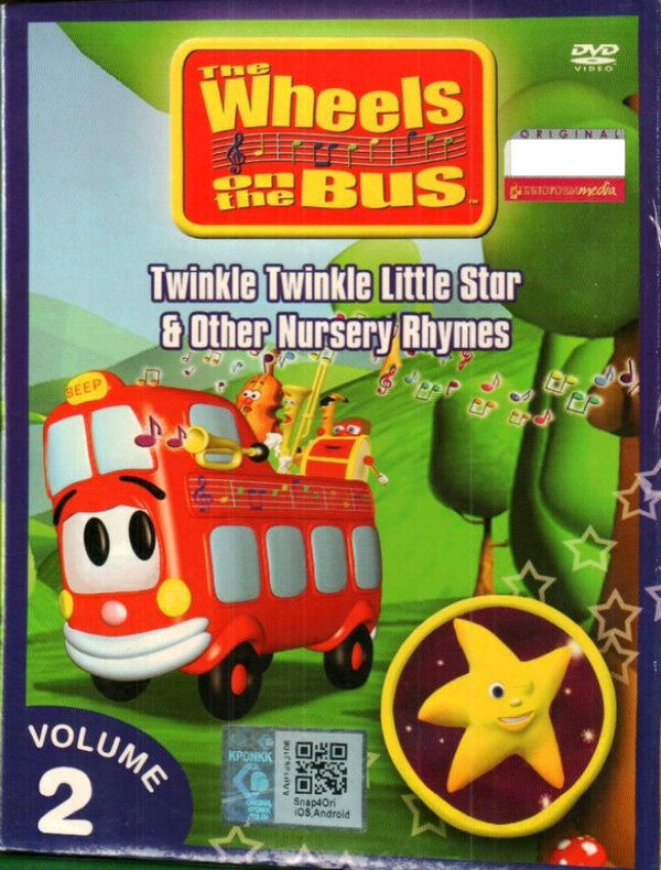 The Wheels On The Bus Twinkle Twinkle Little Star Vol.2 Anime DVD
