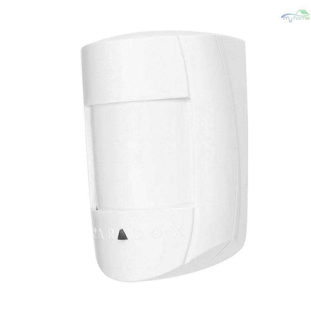 Sensors & Alarms - Wired PIR Motion Sensor Dual Passive Infrared Detector For Home Burglar Security Alarm System - WHITE