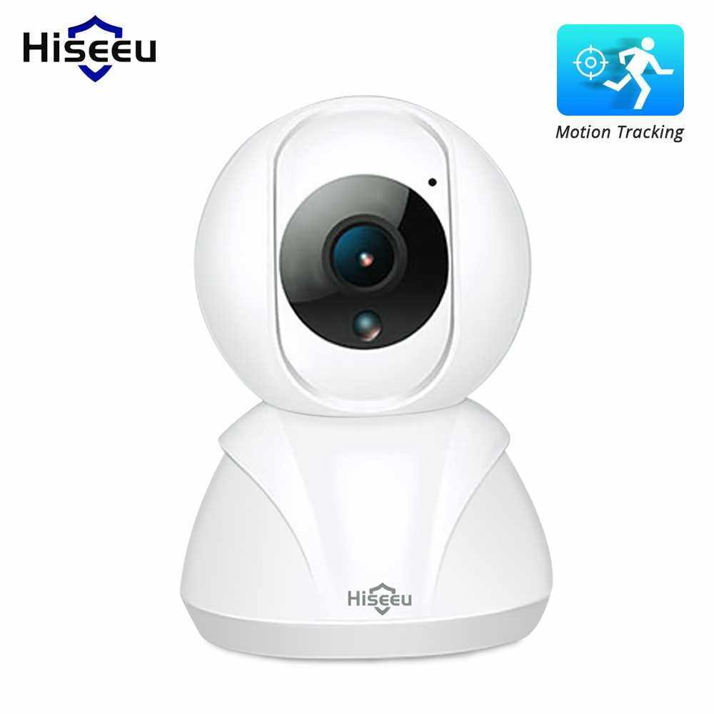 Wireless Home Security Camera, Smart 1080P Indoor WiFi Surveillance IP Camera for Baby/Elder/Nanny Monitor with Motion Tracking Two-Way Audio (Us Plug)