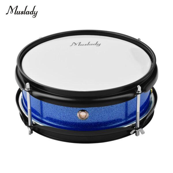 Muslady 8Inch Snare Drum Head Với Dùi Trống Cho Quà Tặng Trẻ Em Học Sinh Màu Xanh
