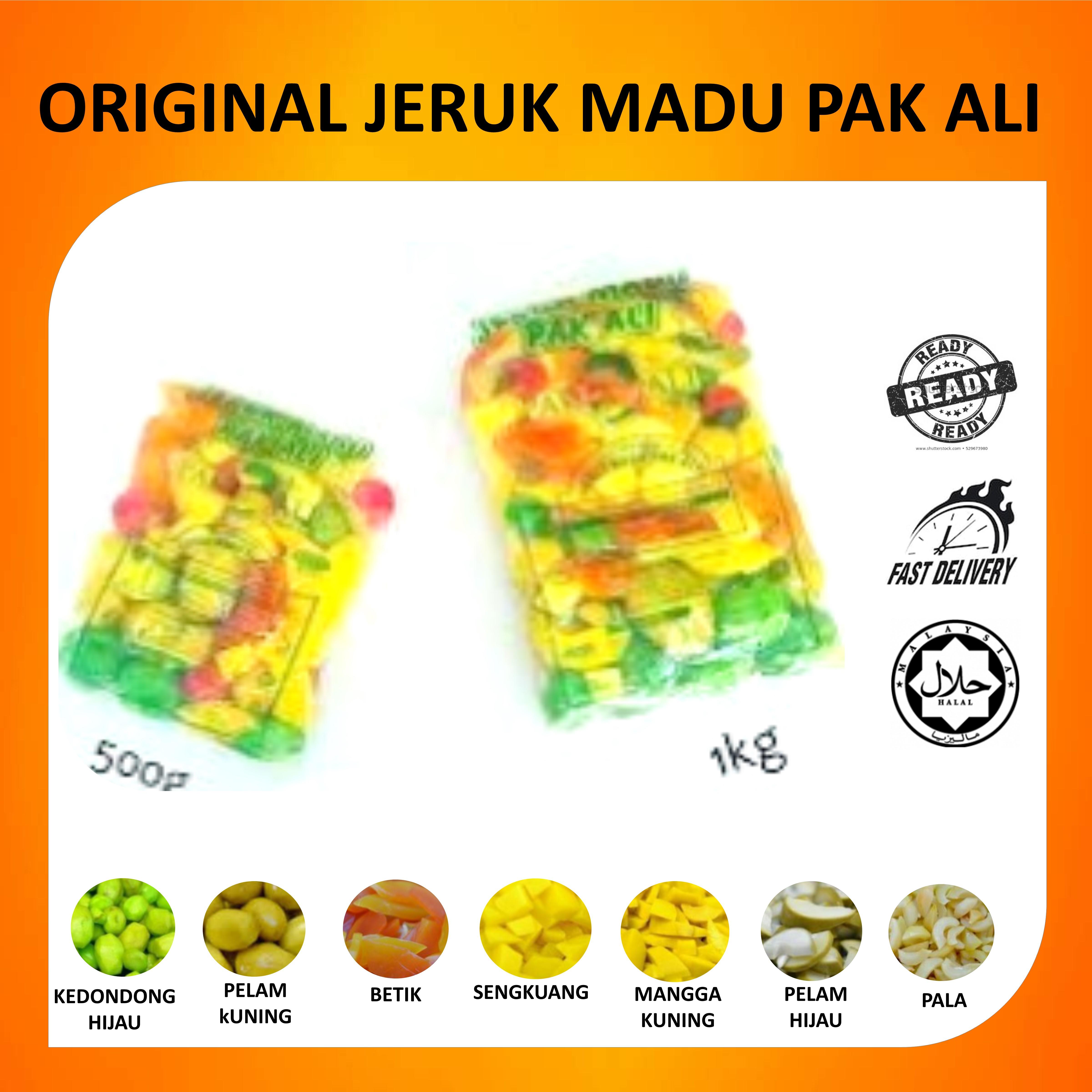 JERUK MADU PAK ALI ORIGINAL PENANG 0.5KG