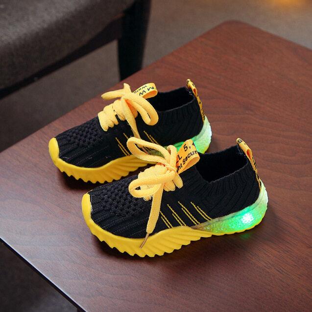 Giày Thể Thao LED Thời Trang Trẻ Em Giày Led Màu Kẹo Cho Bé Trai Bé Gái Mùa Đông Giày Thể Thao Chạy Bộ Lưới Dạ Quang Cho Trẻ Em giá rẻ