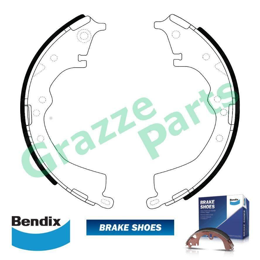 Bendix Brake Shoe Rear for DS2335 - Toyota Innova Unser