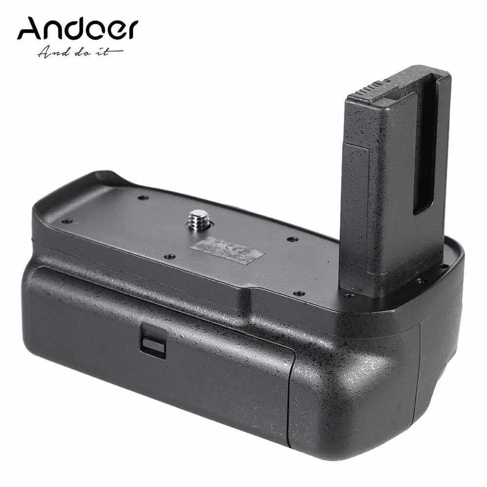 Andoer BG-2F Vertical Battery Grip Holder for Nikon D3100 D3200 D3300 DSLR Camera EN-EL 14 Battery (2)