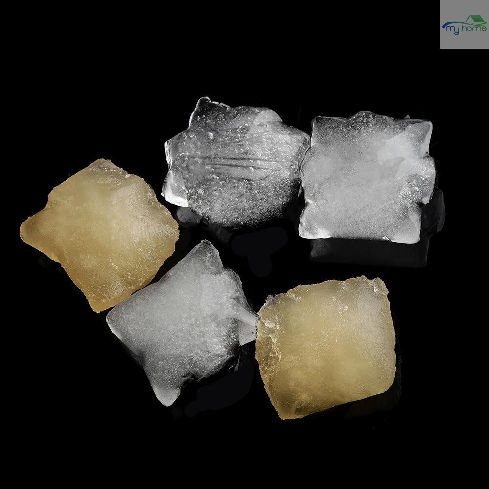 Home Decor - Disposable Ice Cubes Bags Frozen Ice Cube Tray Mold 10 PIECE(s) - TRANSPARENT