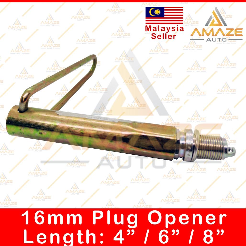 "16mm Spark Plug Opener / Pembuka Palam Pencucuh (Length: 4"" / 6"" / 8"") - Amaze Autoparts"