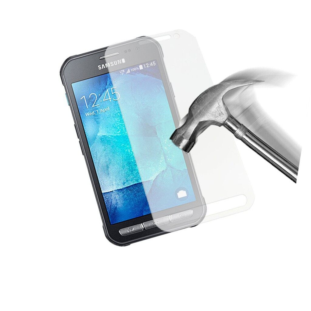 Clear - For Samsung Galaxy Xcover 3 G388F Glass Screen Protector Premium 9H Tempere - Screen Protectors