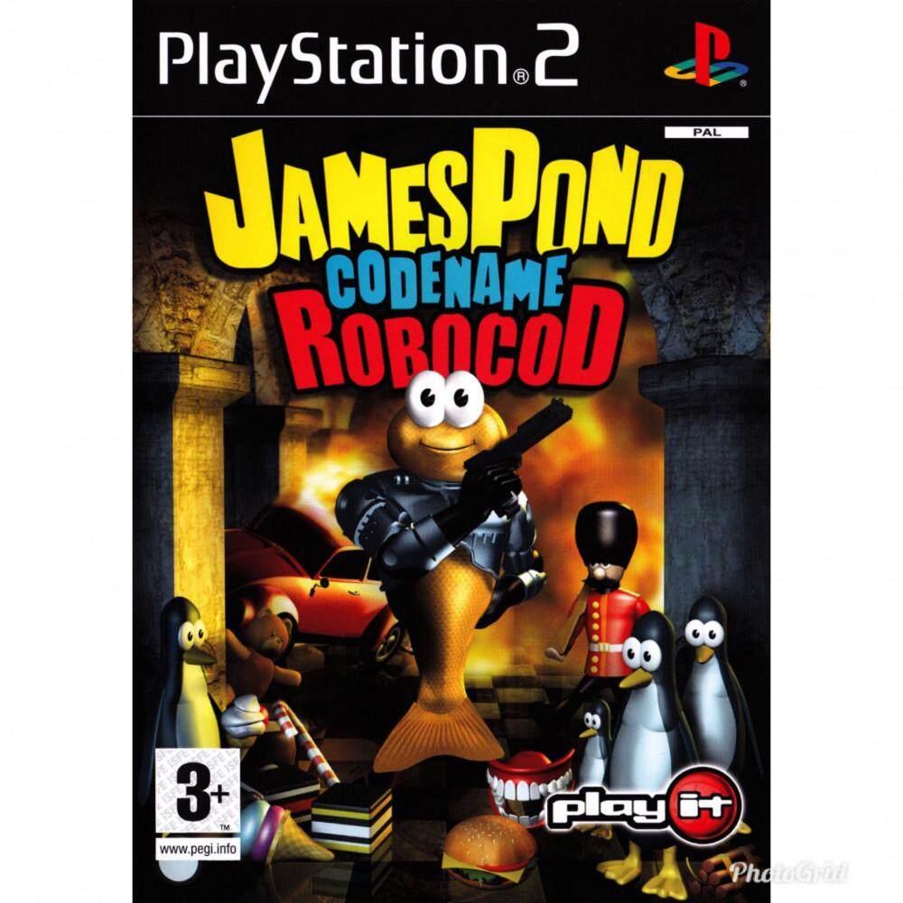 Ps2 James Pond Codename RoboCod