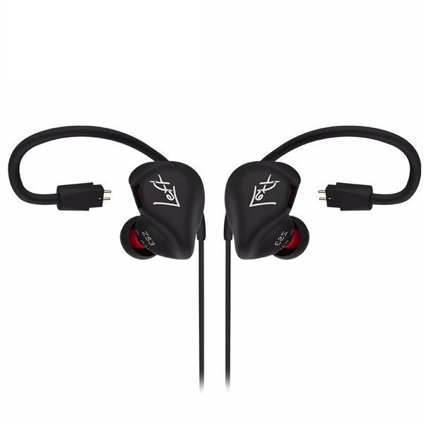 Over-Ear Headphones - KZ ZS3 Hifi 3.5mm In-ear Earphone Head SET Dual Pin Cable Sports Headphone - NO MIC / MIC