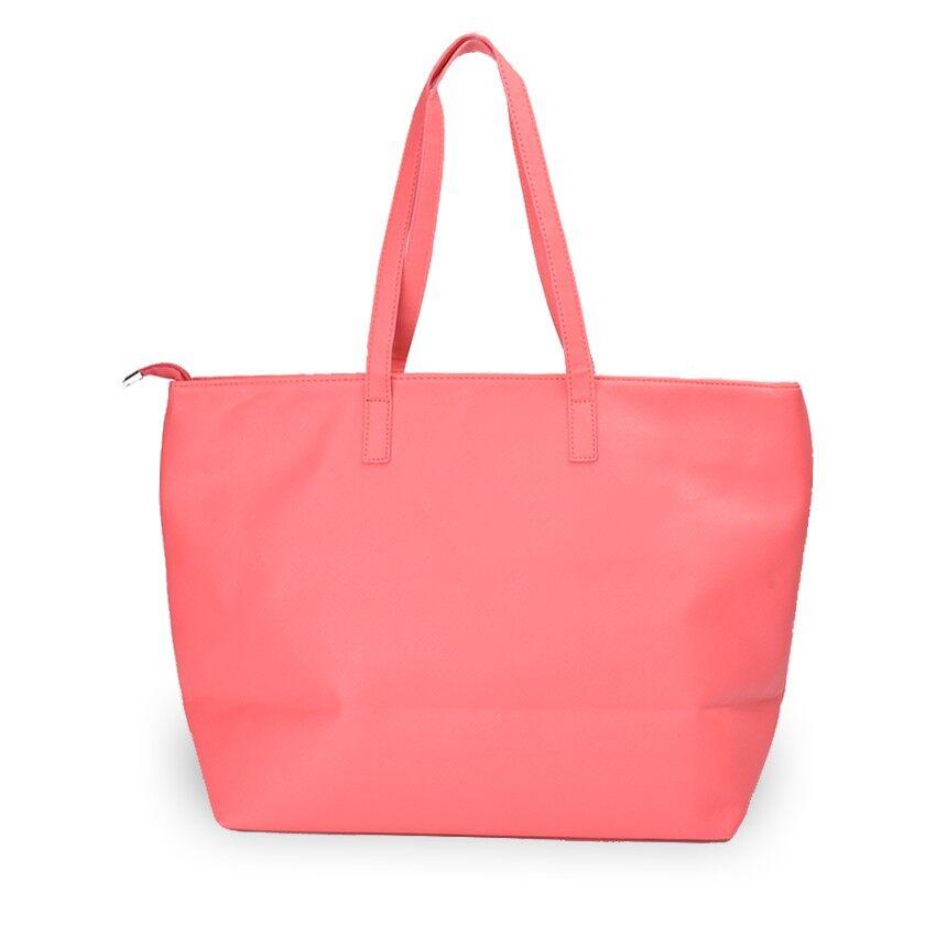 Lulumono Variable Leather Shopping Bag Pink