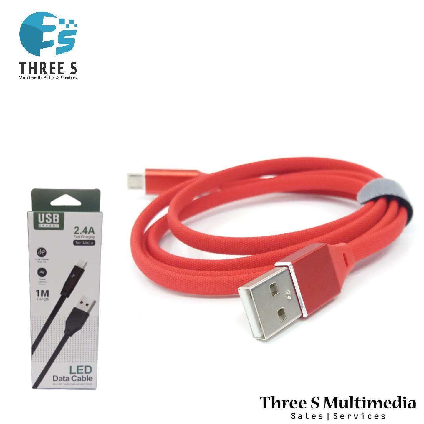 MICRO USB CABLE 1M FAST CHARGER AND DATA TRANSFER