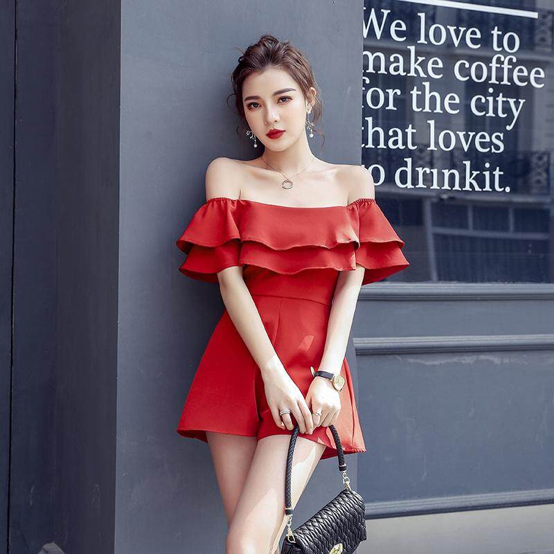 JYS Fashion Korean Style Women Dinner Dress (Jumpsuit)  Collection 517- 7859