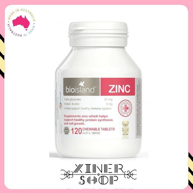 [Pre Order] Bio Island Zinc ( 120 Tablets )( Made In Australia )