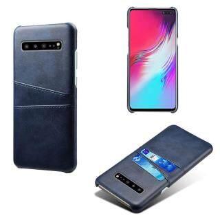 Ốp Có Khe Đựng Thẻ Bằng Da PU Sang Trọng Cho Samsung Galaxy S10 5G Ốp PC Cứng 6.7 Inch thumbnail