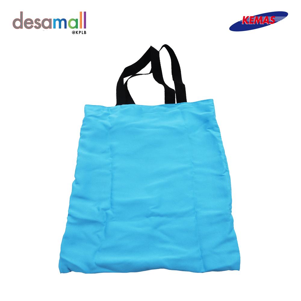 ILHAM DCRAFT Recycle Beg- Hitam + Biru