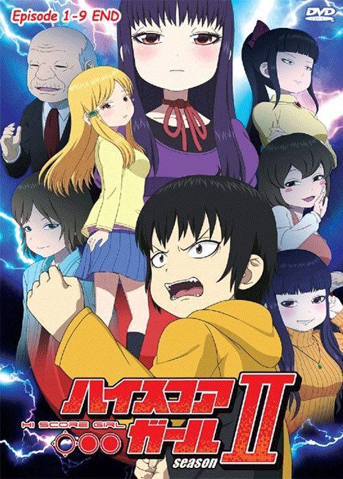 High Score Girl Season 2 Episode 1-9End Japanese Anime DVD
