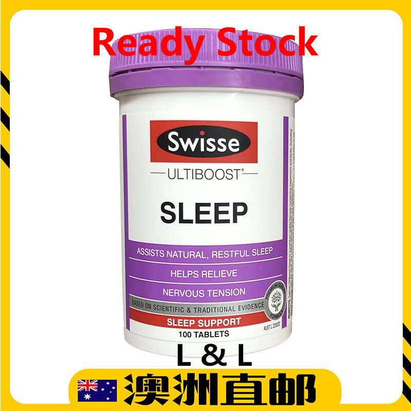 [Ready Stock: 10/2021yr] Swisse Ultiboost Sleep ( 100 Tablets ) (Made In Australia)