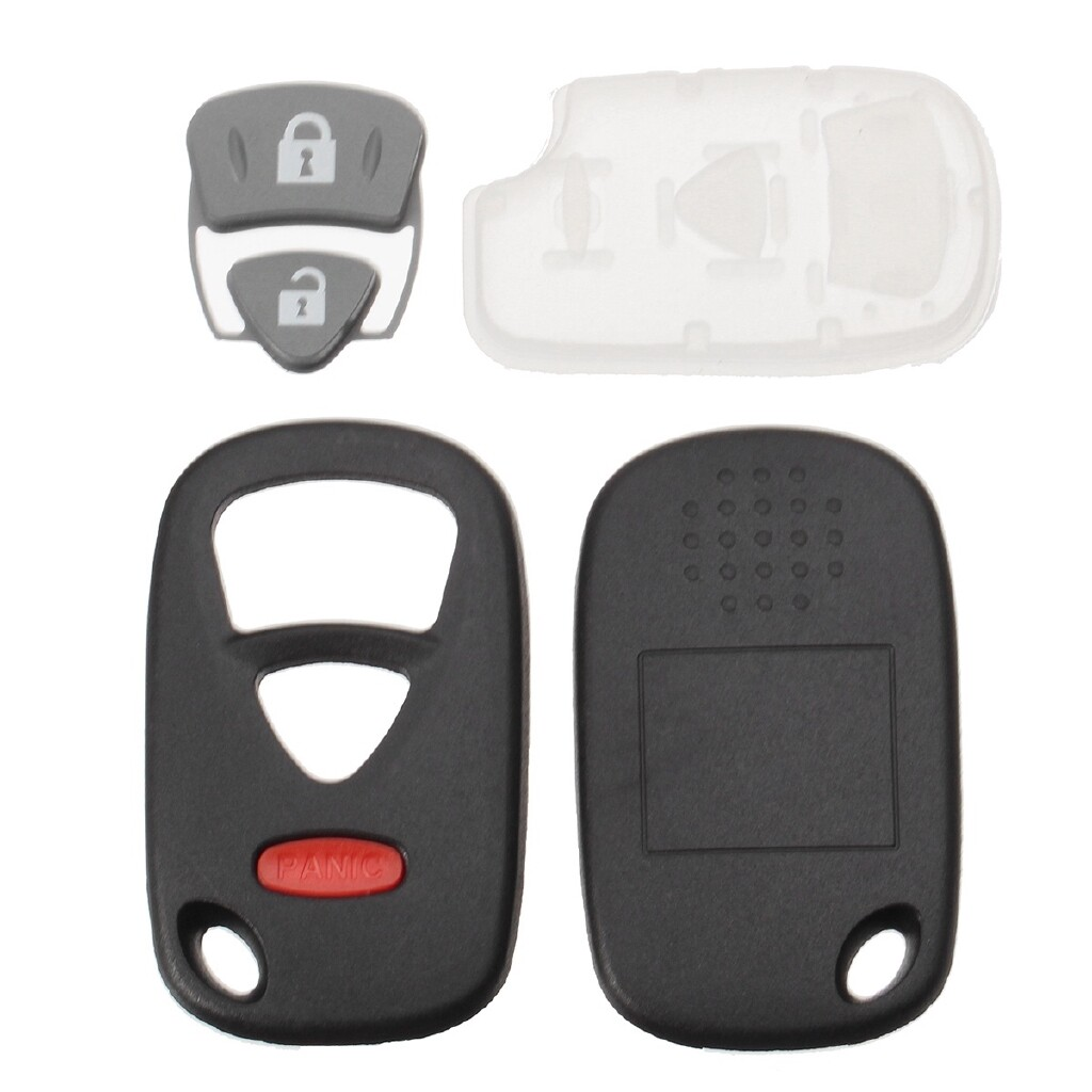 Car Accessories - 3 Button Remote Key Keyless Entry Shell Case Fob Replacement for Suzuki Grand - Automotive