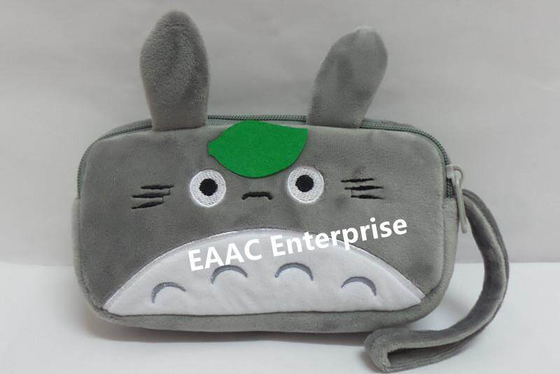 Cute Cartoon Totoro Plush Pencil Box Case