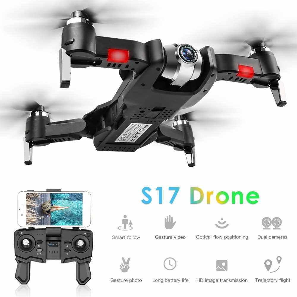 Best Selling S17 RC Drone with Camera 1080P Drone RC Quadcopter Trajectory Flight Palm Control MV Production Optical Flow Positioning Gesture Photo Video Follow Me Portable Bag (11)