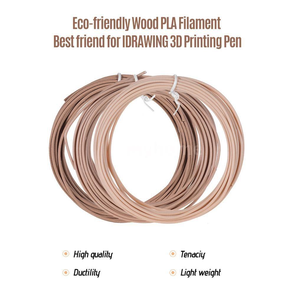 Printers & Projectors - IDRAWING PLA High-Precision 1.75mm Filament Eco-friendly Material 3D Pen Filament Refills Premium - PACK OF 18 ROLLS