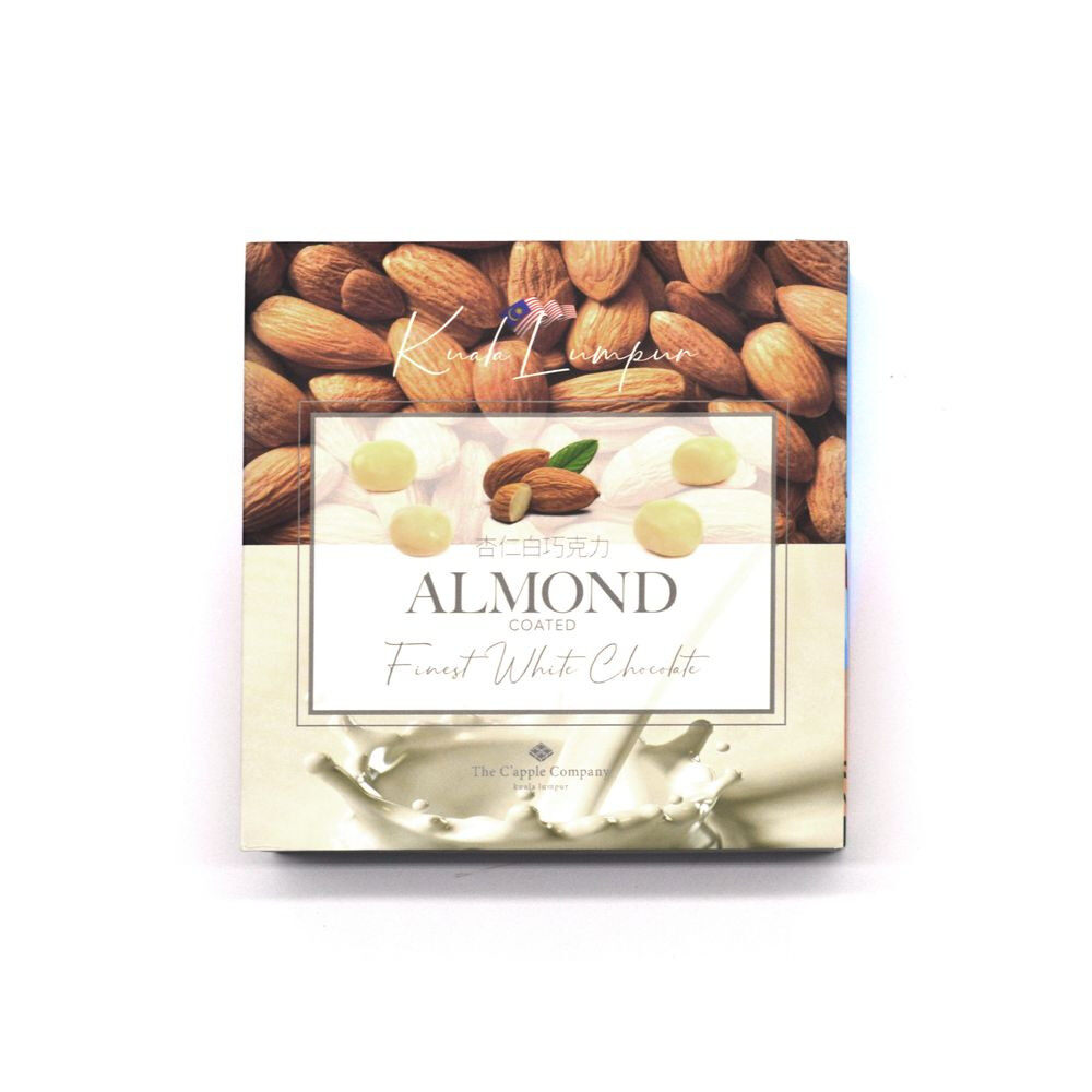 C'APPLE White Chocolate - Almond (100g)