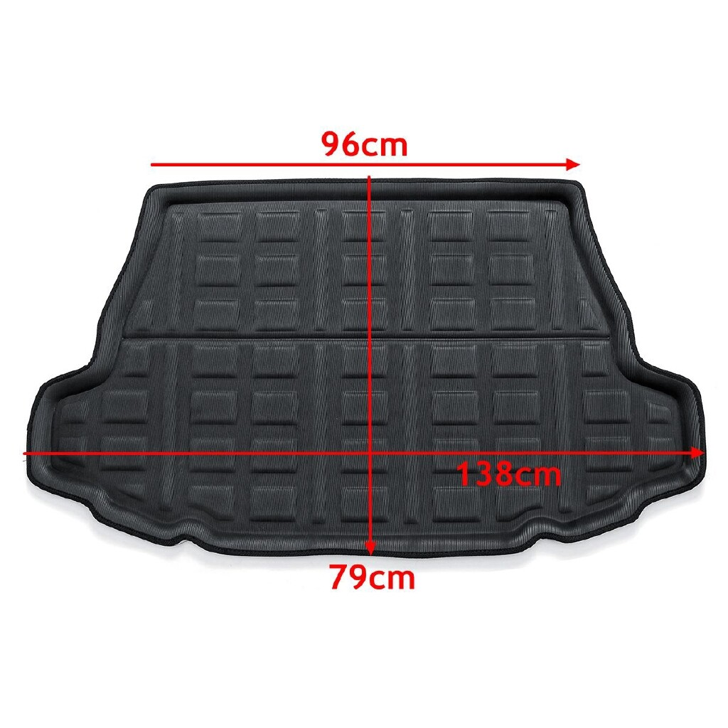 Floor Mats - Rear Trunk Cargo Liner Boot Liner Tray Floor Mat For Toyota C-HR CHR 2017 - Car Accessories