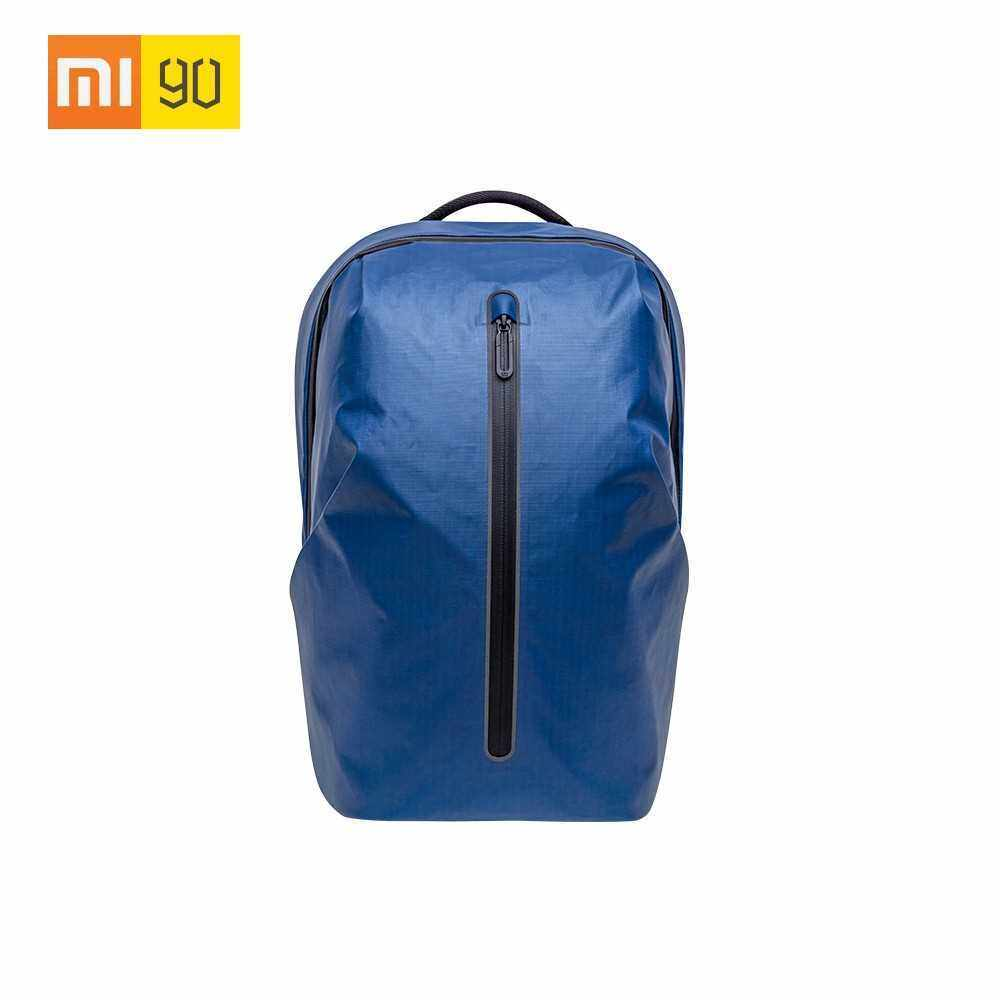 Xiaomi 90 Fun All-weather Function City Backpack Unisex Waterproof Notebook Computer Rucksack School Travel Business Bag For Teenagers (Bl)