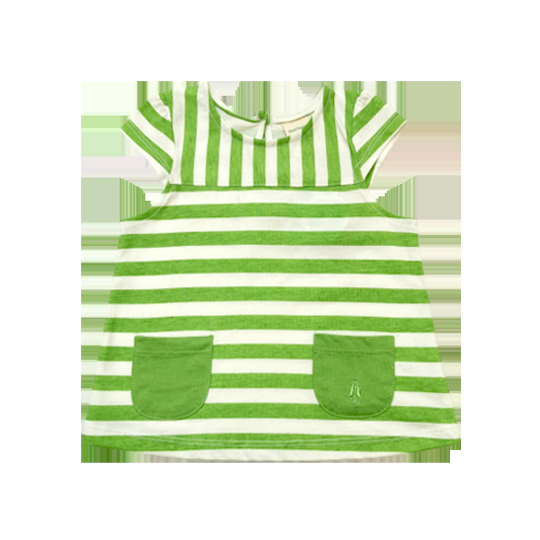 Hush Puppies Baby Nevaeh Print Stripe Fashion Top  HFT711455