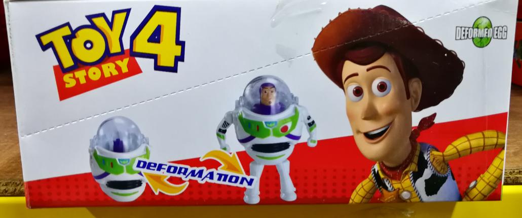 Toy Story 4 Super Toy Cool Deformation Egg Toys Set