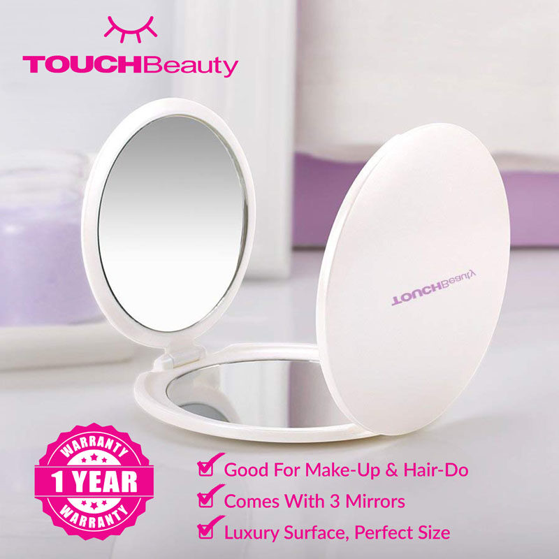 TOUCHBeauty  Portable Makeup Mirror TB-1471 Three-panelled Foldable Mirror/ Foldable Travel Mirror/Premium Quality