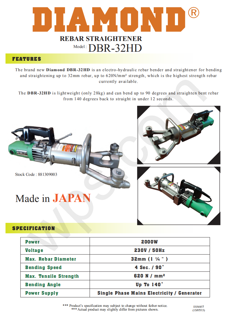 pipe construction threading rebar bar straight straightener bender bend hydraulic metal jack angle grinder drill plate disc cutter cut cutting machine power tool motor roll roller rolling handle high pressure press speed metal holder holding hold trimmer